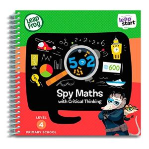 Spy Maths Activity Book