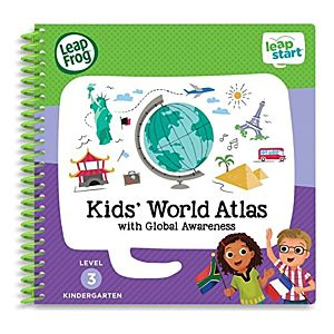 Kids World Atlas Activity Book