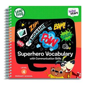 Super Hero Vocabulary Activity Book