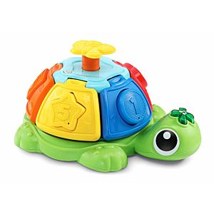 Sort & Spin Turtle with inserted shapes