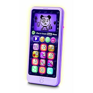 Chat & Count Smart Phone Violet Refresh
