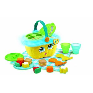 Shapes & Sharing Picnic Basket Refresh Yellow with picnic set