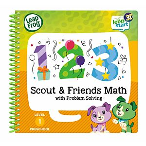 Scout & Friends Maths (3D Enhanced) Activity Book