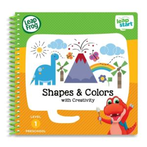 Shapes, Colours, and Creativity Activity Book